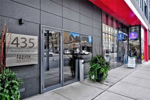 Condo for sale at 435 Richmond St Unit 1409 Toronto Ontario - MLS: C4719781