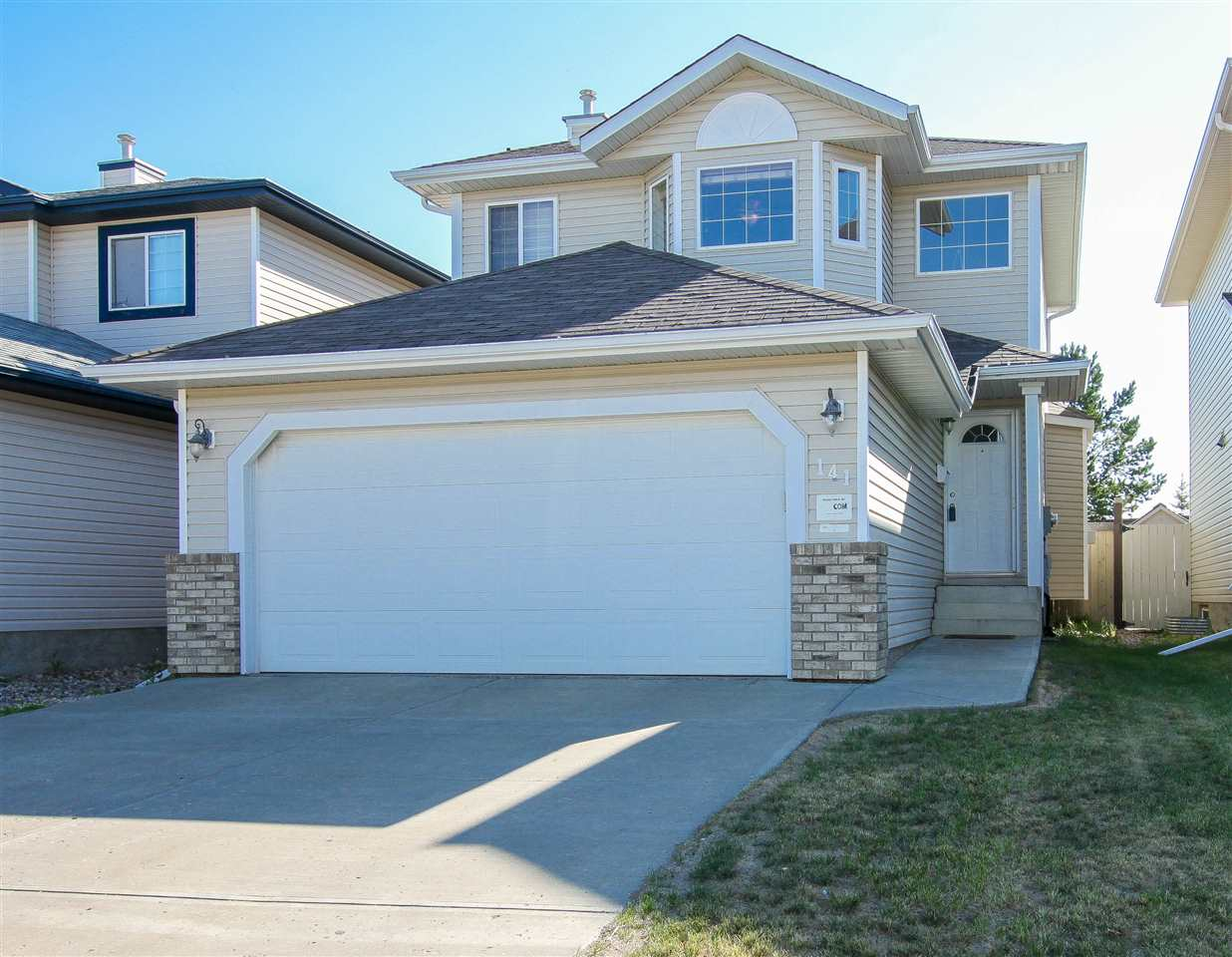 For Sale: 141 Crocus Crescent, Sherwood Park, AB | 3 Bed, 3 Bath House for $409,900. See 19 photos!