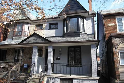 Townhouse for rent at 141 Gladstone Ave Toronto Ontario - MLS: C4646242