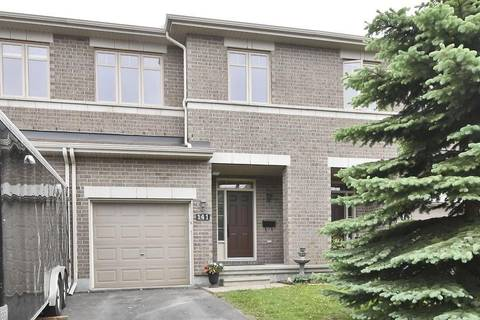 Townhouse for sale at 141 Jersey Tea Circ Ottawa Ontario - MLS: 1155929