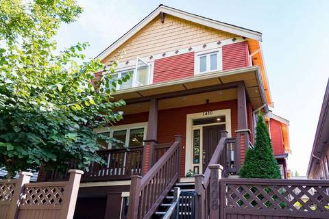 Townhouse for sale at 1410 1st Ave E Vancouver British Columbia - MLS: R2402458