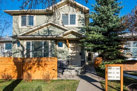 Townhouse for sale at 1412 20 Ave NW Calgary Alberta - MLS: A1053183