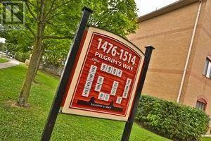 Condo for sale at 1486 Pilgrims Wy Unit 1414 Oakville Ontario - MLS: 30770418