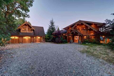 House for sale at 14149 Mixal Heights Rd Garden Bay British Columbia - MLS: R2491733