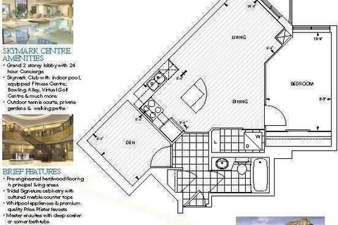 Apartment for rent at 80 Harrison Garden Blvd Unit 1415 Toronto Ontario - MLS: C4555119