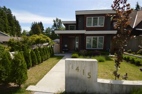 House for sale at 1415 Harold Rd North Vancouver British Columbia - MLS: R2348177