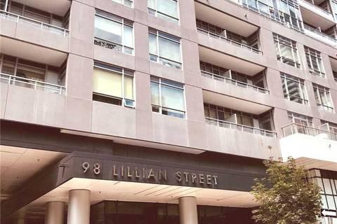 Condo for sale at 98 Lillian St Unit 1418 Toronto Ontario - MLS: C4538293