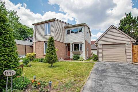 House for sale at 1419 Lefkas Ct Mississauga Ontario - MLS: W4815802