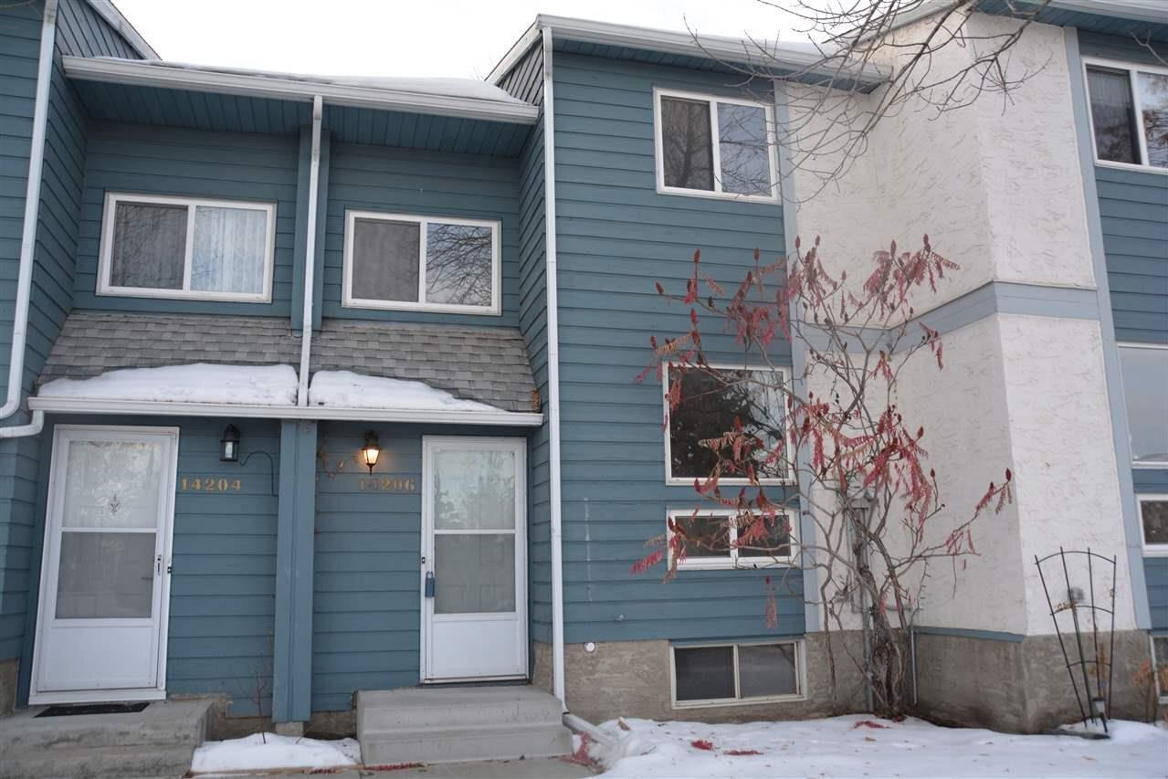 Townhouse for sale at 14206 31 St NW Edmonton Alberta - MLS: E4216868