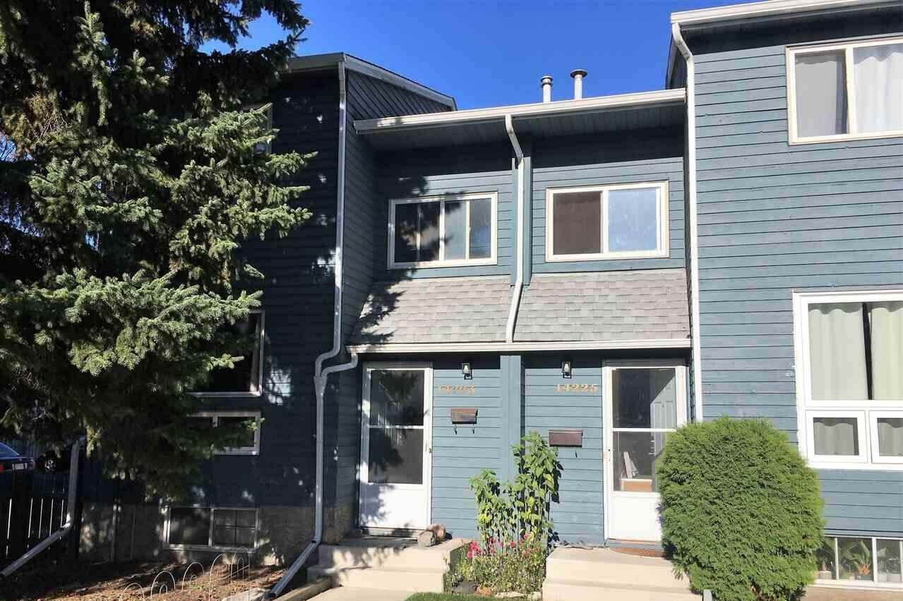 Townhouse for sale at 14223 32 St NW Edmonton Alberta - MLS: E4213053