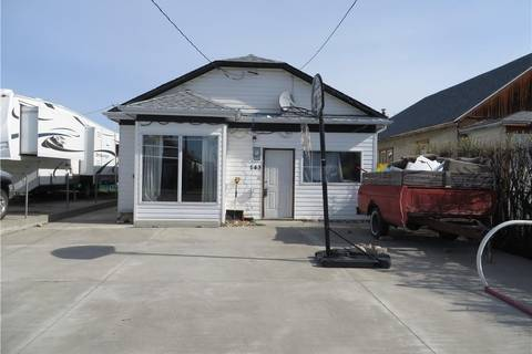 House for sale at 143 17 St Fort Macleod Alberta - MLS: LD0158104