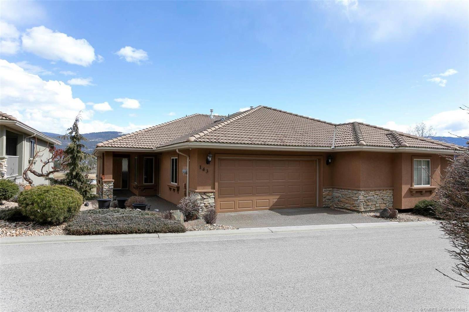 Townhouse for sale at 2455 Quail Ridge Blvd Unit 143 Kelowna British Columbia - MLS: 10196993