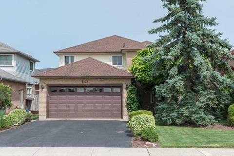House for sale at 143 Brigade Dr Hamilton Ontario - MLS: X4511936