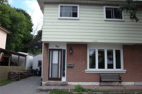 Townhouse for rent at 143 Hollyberry Tr Toronto Ontario - MLS: C4407404