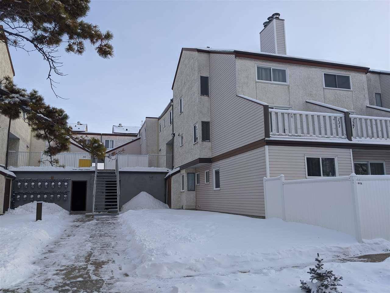 Townhouse for sale at 143 Lancaster Te Nw Edmonton Alberta - MLS: E4183850