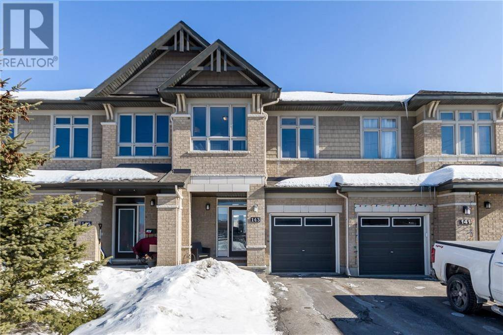Townhouse for sale at 143 Popplewell Cres Ottawa Ontario - MLS: 1183619