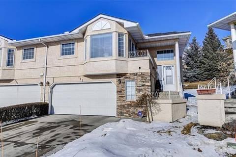 Townhouse for sale at 143 Sierra Morena Te Southwest Calgary Alberta - MLS: C4286728