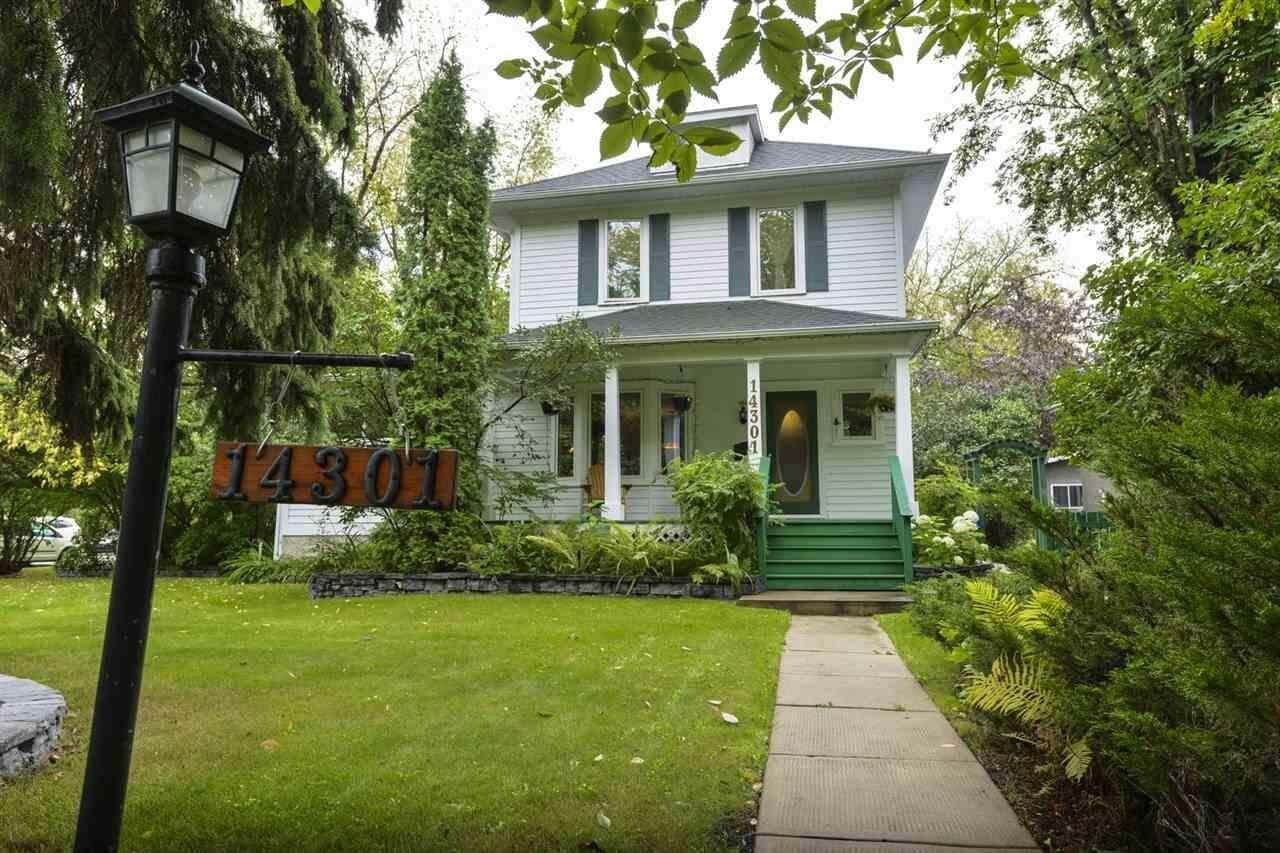 House for sale at 14301 101 Av NW Edmonton Alberta - MLS: E4185651