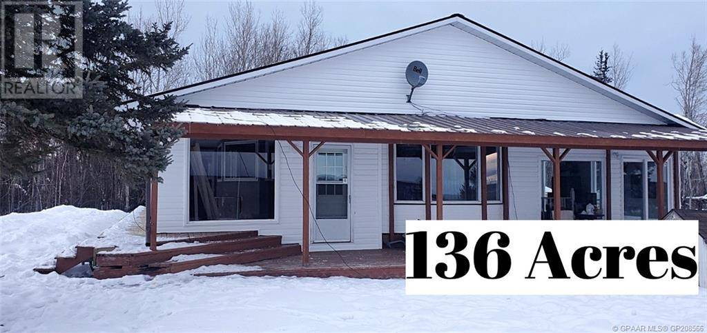 Home for sale at 14315 Township Road 764a  High Prairie Alberta - MLS: GP208566