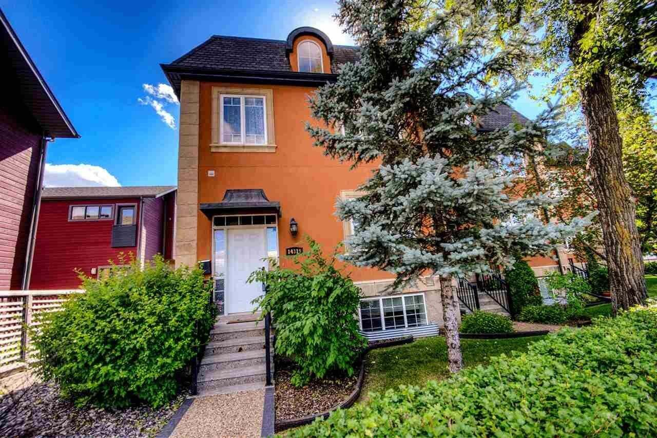 Townhouse for sale at 14319 Stony Plain Rd NW Edmonton Alberta - MLS: E4215730