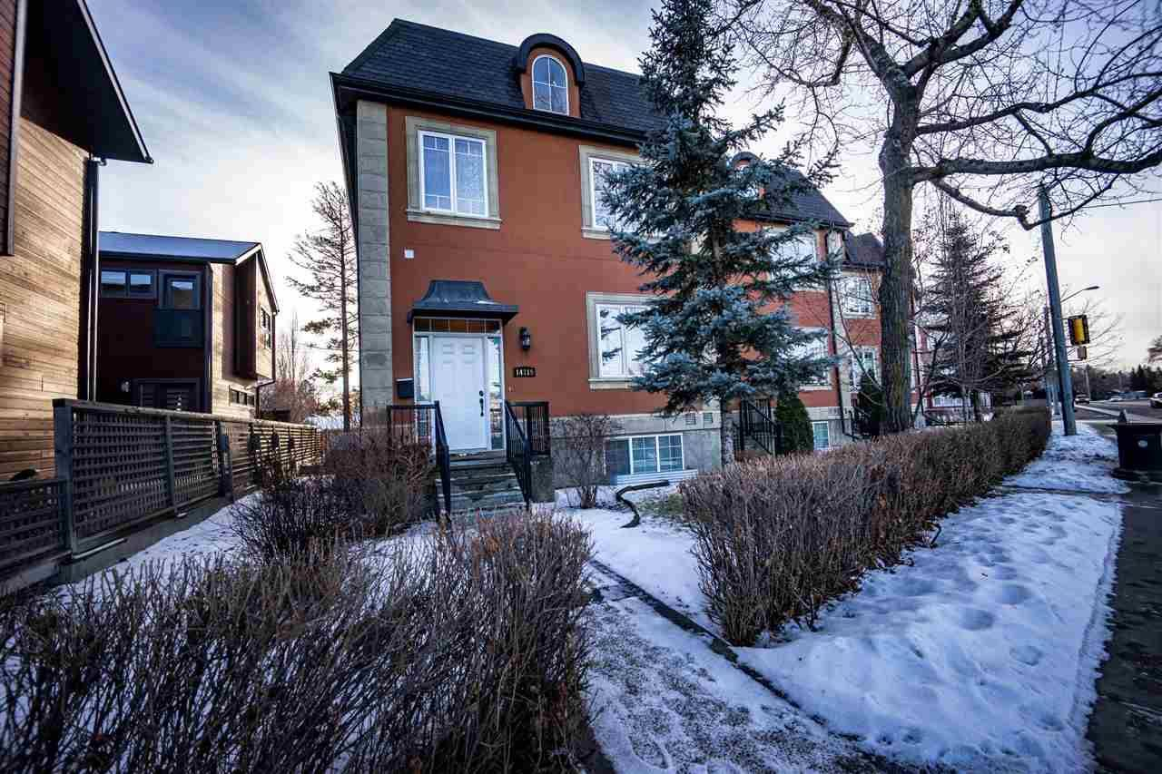 Townhouse for sale at 14319 Stony Plain Rd Nw Edmonton Alberta - MLS: E4181491