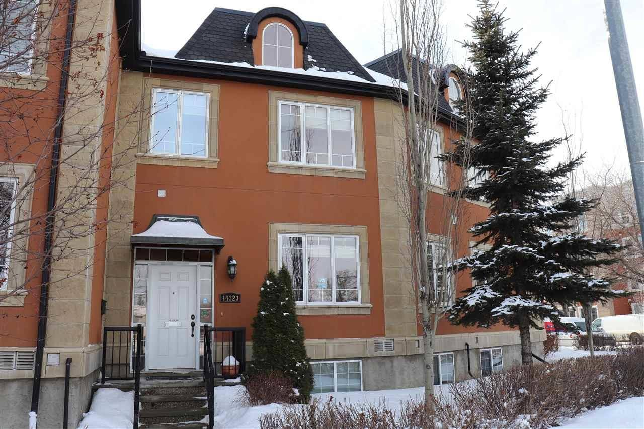 Townhouse for sale at 14323 Stony_plain Rd Nw Edmonton Alberta - MLS: E4190400