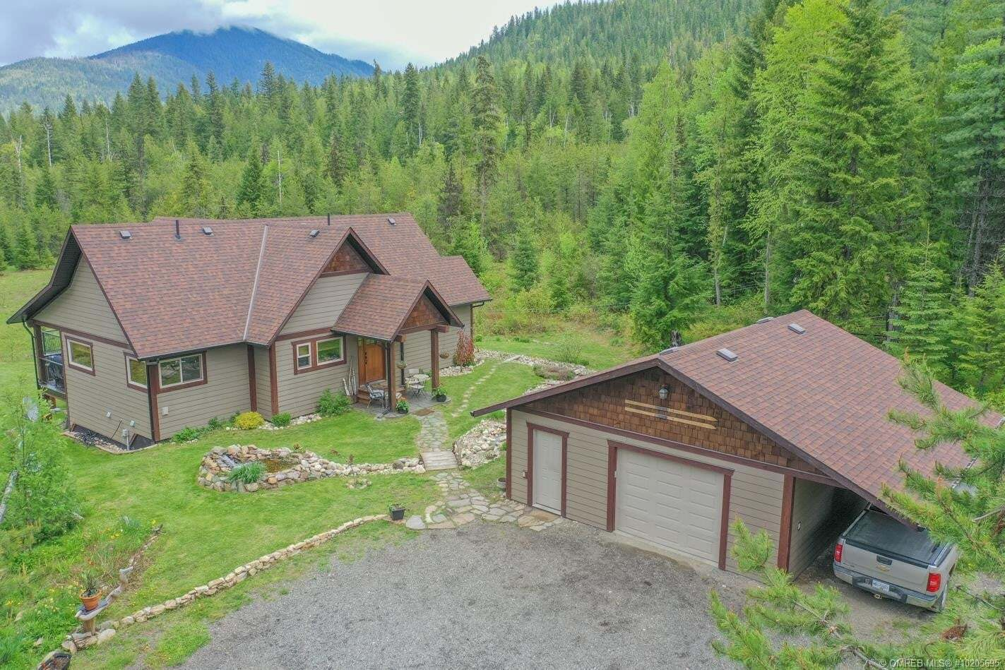 House for sale at 1433 Sugar Lake Rd Cherryville British Columbia - MLS: 10205695