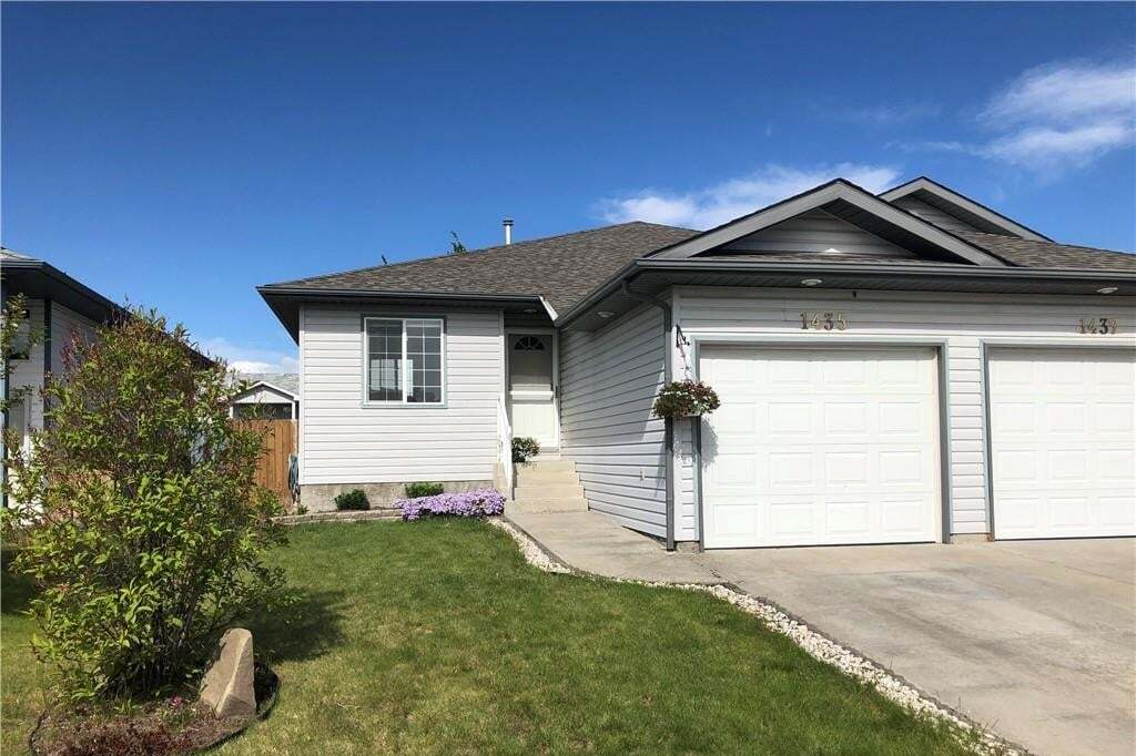 Townhouse for sale at 1435 Strathcona Wy Strathaven, Strathmore Alberta - MLS: C4290162