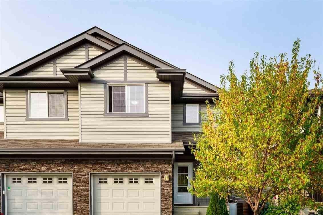 Townhouse for sale at 144 Cranston Pl Fort Saskatchewan Alberta - MLS: E4215020