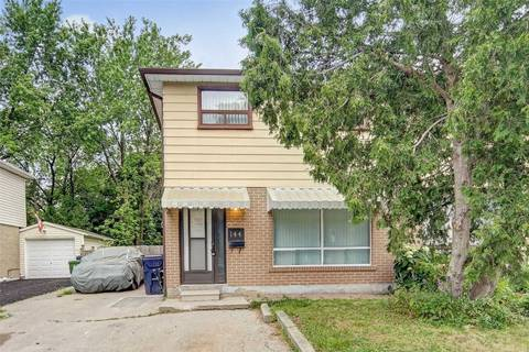 Townhouse for sale at 144 Hollyberry Tr Toronto Ontario - MLS: C4619722