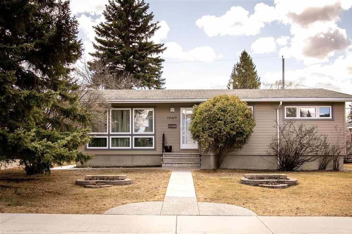 House for sale at 14419 87 Av NW Edmonton Alberta - MLS: E4191263