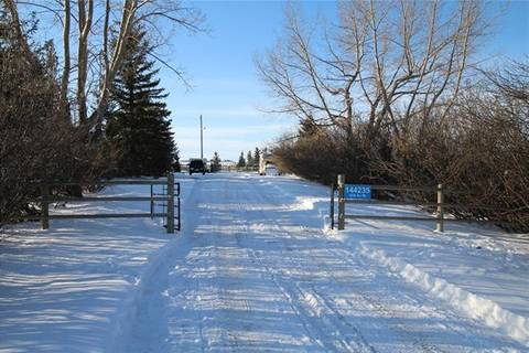 House for sale at 144235 434 Ave West Rural Foothills County Alberta - MLS: C4292301