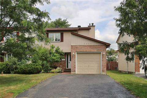 House for sale at 1444 Meadowbrook Rd Ottawa Ontario - MLS: 1161347