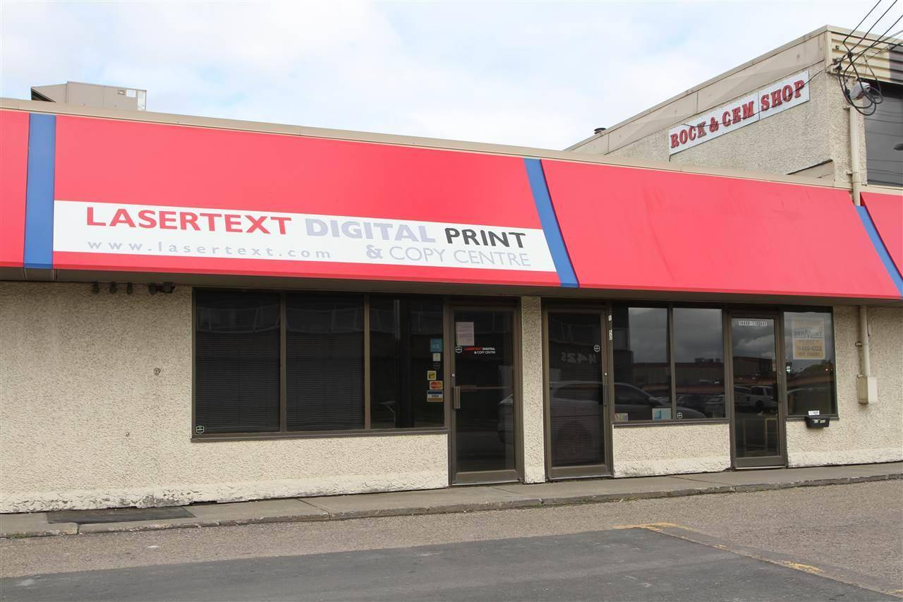 Commercial property for lease at 14452 118 Ave Nw Edmonton Alberta - MLS: E4173665