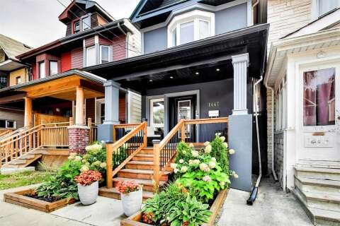House for sale at 1447 Dundas St Toronto Ontario - MLS: E4932308