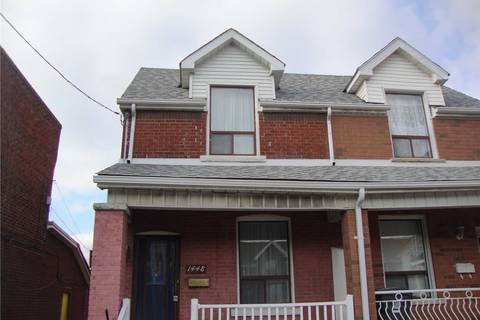 Townhouse for rent at 1448 Dufferin St Toronto Ontario - MLS: W4626204