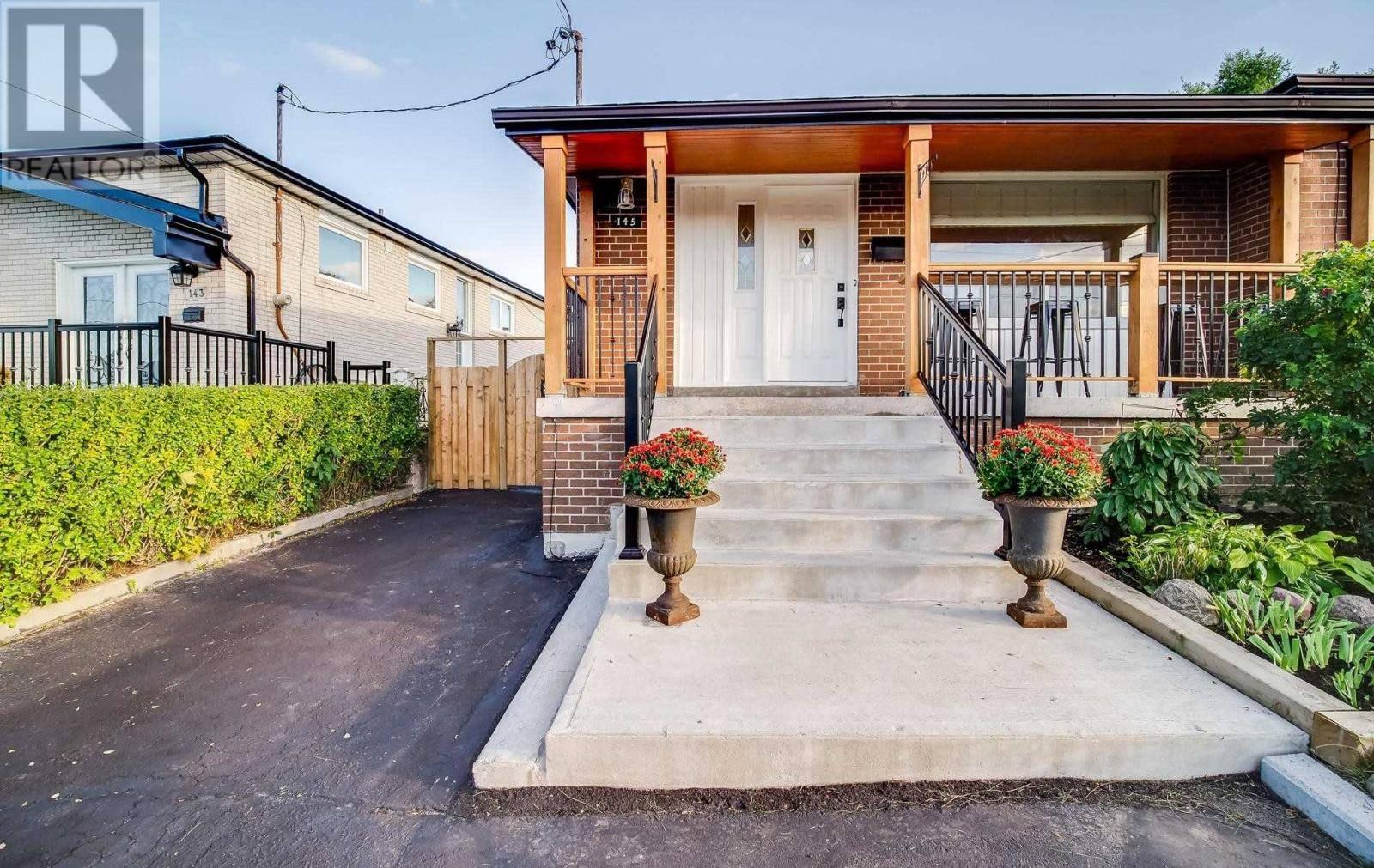House for sale at 145 Grandravine Dr Toronto Ontario - MLS: W4600624