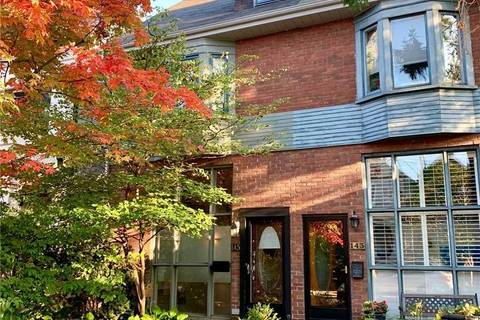 Townhouse for sale at 145 Hogarth Ave Toronto Ontario - MLS: E4597588