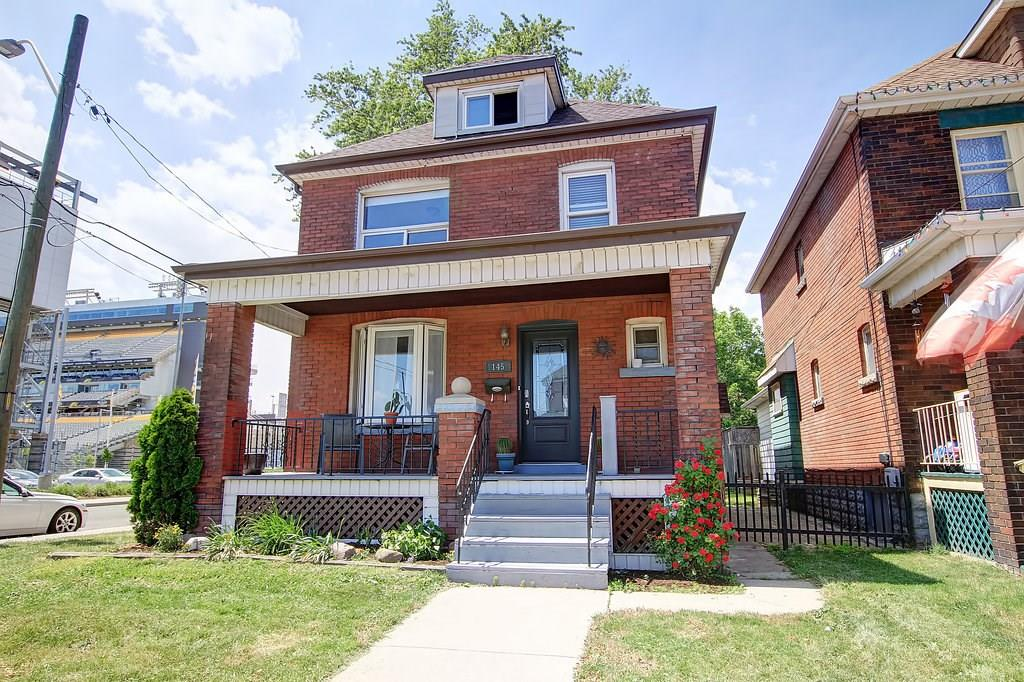 For Sale: 145 Leinster Avenue North, Hamilton, ON | 4 Bed, 1 Bath House for $424,900. See 2 photos!