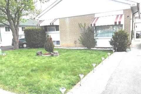 House for rent at 145 Pandora Circ Toronto Ontario - MLS: E4683937