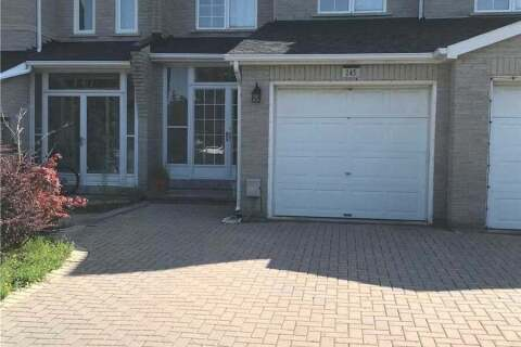 Townhouse for rent at 145 Sunway Sq Markham Ontario - MLS: N4822918
