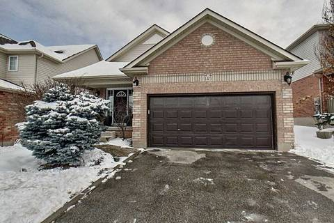 House for sale at 145 Winding Wood Cres Kitchener Ontario - MLS: X4693622