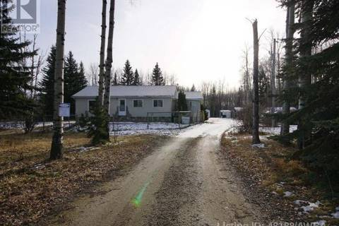 House for sale at 14517 Township Rd Edson Rural Alberta - MLS: 48188