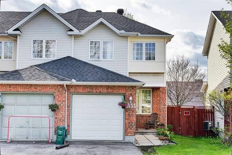 Townhouse for sale at 1453 Lynx Cres Ottawa Ontario - MLS: 1152989