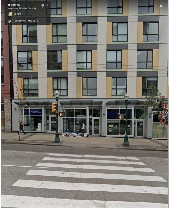Commercial property for lease at 138 Hastings St East Apartment 146 Vancouver British Columbia - MLS: C8027591