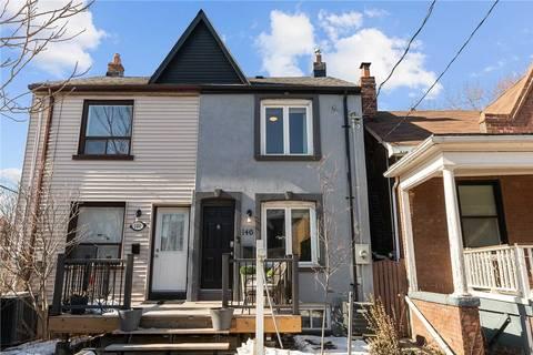 Townhouse for sale at 146 Hamilton St Toronto Ontario - MLS: E4700331