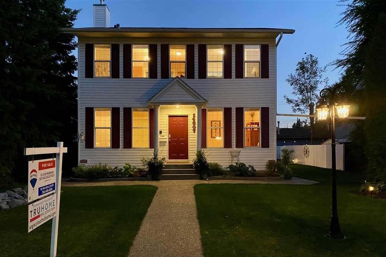 House for sale at 14607 104 Av NW Edmonton Alberta - MLS: E4213664