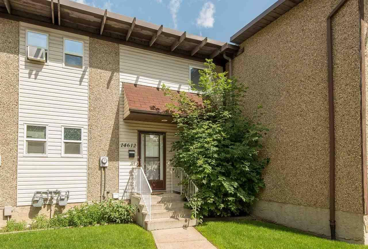 Townhouse for sale at 14612 121 St Nw Edmonton Alberta - MLS: E4181907