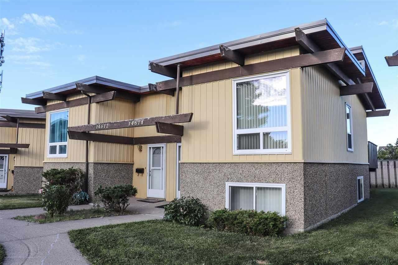 Townhouse for sale at 14614 118 St NW Edmonton Alberta - MLS: E4214133