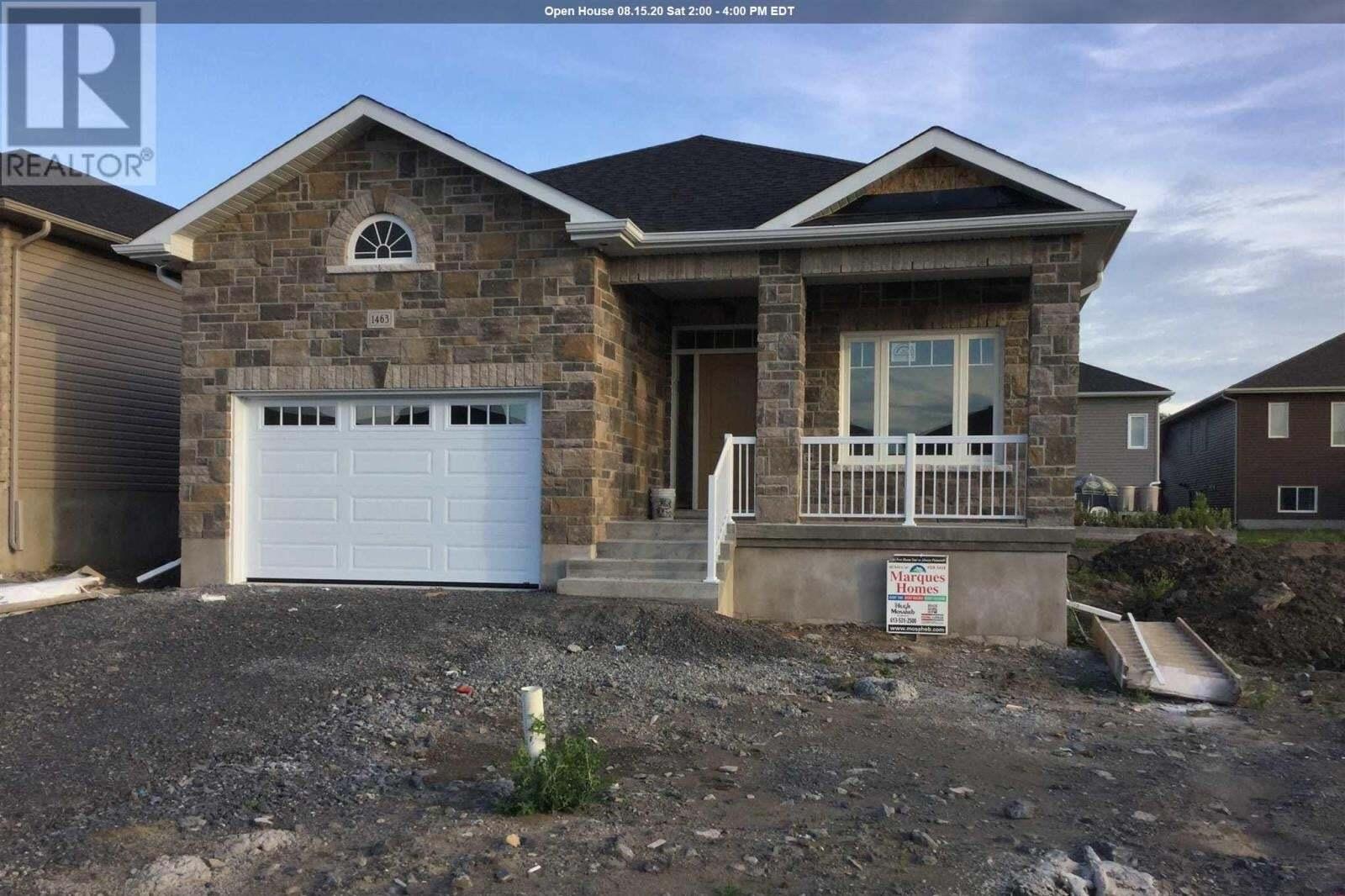 House for sale at 1463 Evergreen Dr Kingston Ontario - MLS: K20002047